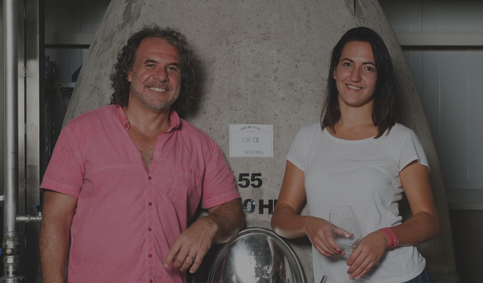 Winemakers Marcelo Peleretti & Noelia Gonzalez